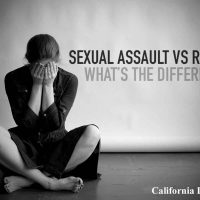 sexual assault vs rape